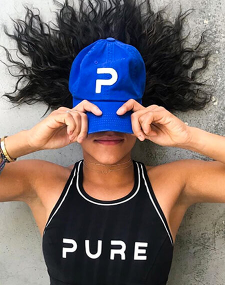 CAP and SHIRT PURE LOGO