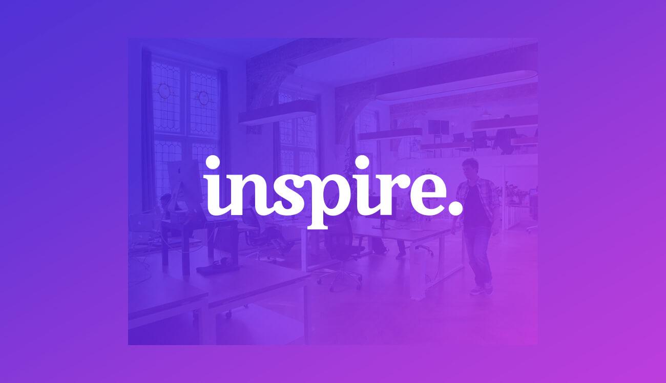 inspire logotype serif