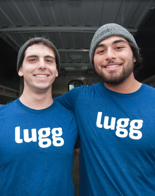 lugger in lugg t-shirt