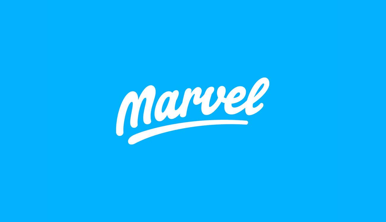 marvel app logo big