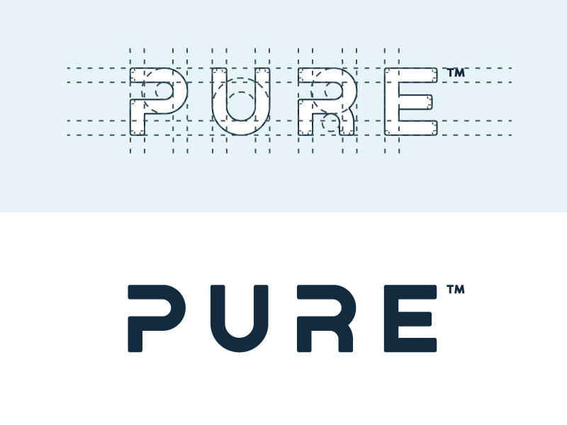 Pure Logo Grid how it is made