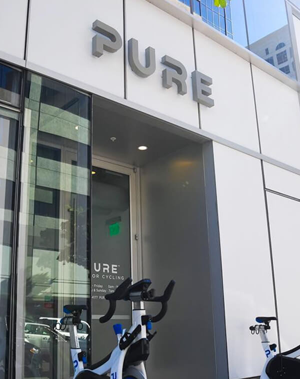 PURE LOGO OUTDOOR SIGN