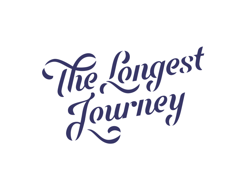 The Longest Journey script lettering design